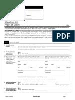 Official Form Proof of Claim Corte Fed. Quiebra