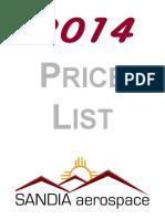 2014 Pricing