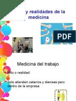 Mitos y Realidades de La Medicina