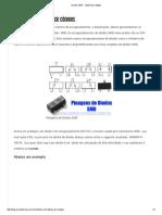 Diodos SMD Tabla de Códigos