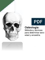 Métodos y Técnicas en Osteología Antropolóica