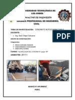 proyecto de investigacion de concreto autocompactable