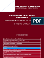 Producion in- Vitro de Emb Titi
