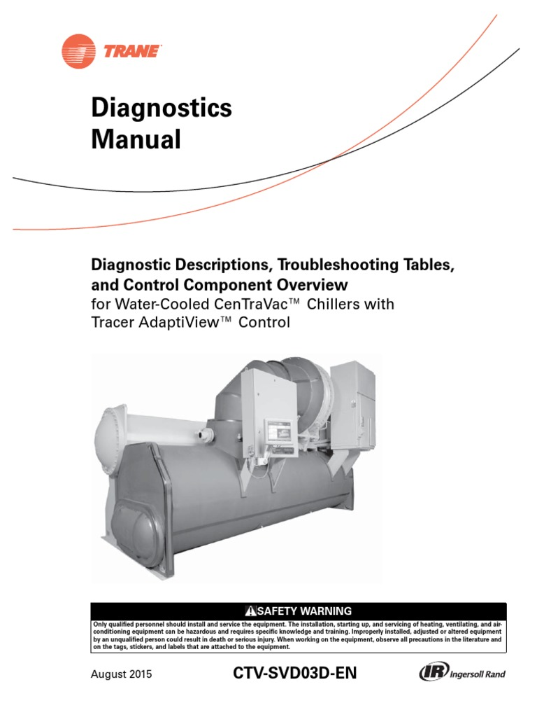 Trane Diagnostics Manual.pdf | Chlorofluorocarbon | Personal Protective  Equipment