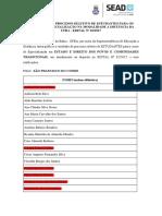Resultado Edital 02-2017 Direito Dos Povos Sao Francisco