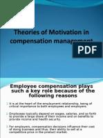 Compensation Management -- Motivation