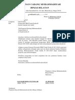 Pengesahan Prm Tanah Seribu II (Pcm Binjai Selatan)