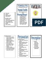 Leaflet Tonsil