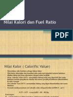 Nilai Kalori Dan Fuel Ratio