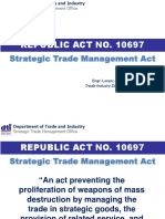 PH Strategic Trade Management Act