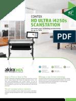 Contex Hd Ultra i4250s Scanstation