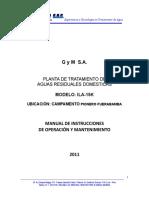 Manual de Op. y Mantto  PTARD ILA 15K Pionero Fuerabamba[1].doc