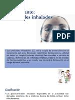 Tratamiento corticoides inhalados