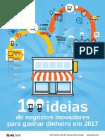 eBook 100 Ideias de Negocios Inovadores Para Ganhar Dinheiro Em 2017-Uol Host