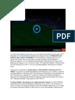 Ver Real Madrid vs Barcelona en VIVO Supercopa de España 16 de Agosto 2017 Online