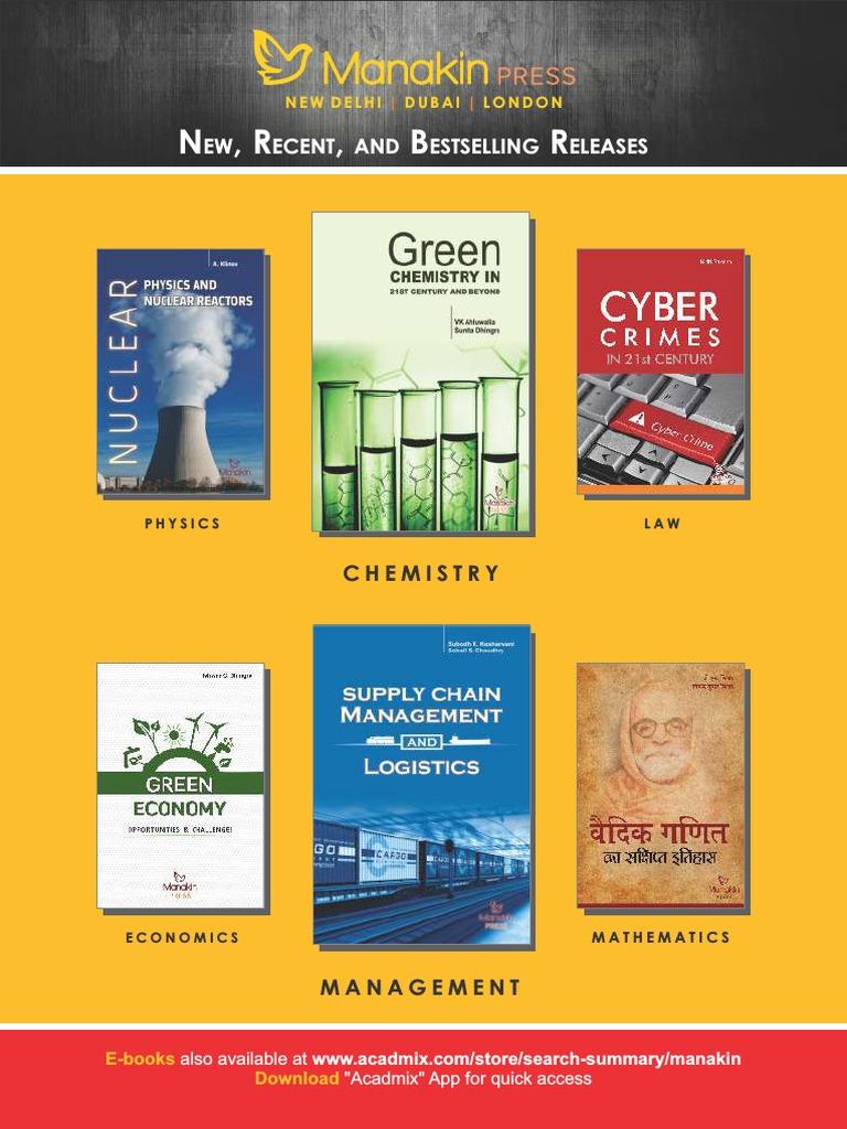 Manakin Press Combine Catalogue-Low Res- (1) | Inorganic Chemistry