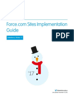 Salesforce Platform Portal Implementation Guide 2017