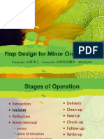 Flap Design for Minor Oral Surgery
