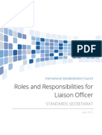 ISC Liaison Office Role Responsibilities