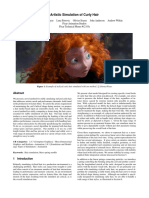PIXAR - Artistic Simulation of Curly Hair