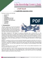 Multi-link Suspension System