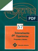 Aportes 57(Texto Mariño)