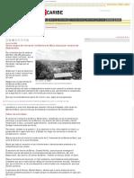2-6-2008 Venta masiva de tierras en los Montes de María denuncian voceros de desplazados