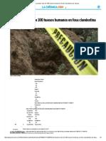 Encuentran Más de 100 Huesos Humanos en Fosa Clandestina de Tijuana