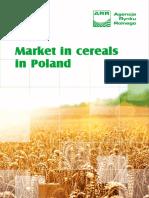 Market in Cereals in Poland Rynek Zboz 2013 En