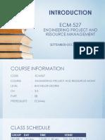 1 Introduction Ecm 527