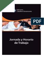 Jornada y horario de trabajo - Ediciones Caballero Bustamante.pdf