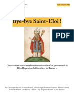 Bye Bye Saint-Eloi !