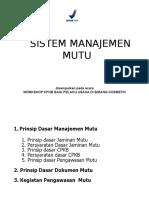 Sistem Manajemen Mutu