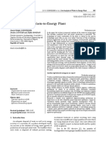Waste to energy plant version 2