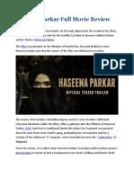 Haseena Pakar full movie download