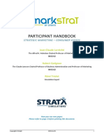 Markstrat Participant Manual