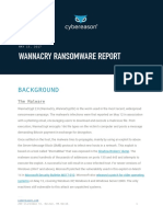 WannaCry Cybereason Report