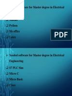 Software for Electrical Engineer