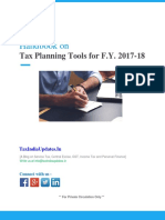 [E-Book] Tax Planning Tools for F.Y. 2017-18 [AY 2018-19] (1)