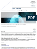 WEF a Blueprint for Digital Identity