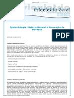 Epidemiologia, História Natural e Prevenção de Doenças 3
