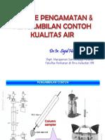 Metode Pengambilan Contoh Kualitas Air -SGH Rev