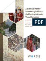 A Strategic Plan for Empowering Pakistan's Civil Society to Counter Violent Extremism (WORDE, 2015)