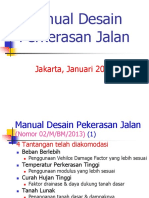 Manual Desain Perkerasan 2013 Revised