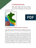 Las Ecoregiones Del Peru