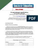 ART - El aprendizaje significativo.doc