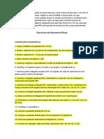 Exercícios de Geometria Plana.docx