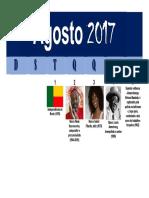 Calendário Negro - Agosto 2017