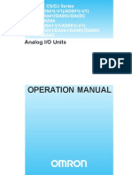 W345 E1 06+CS(CJ)1W IO Units+Operation Manual