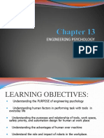 Chapter 13 - Engineering Psychology Stu